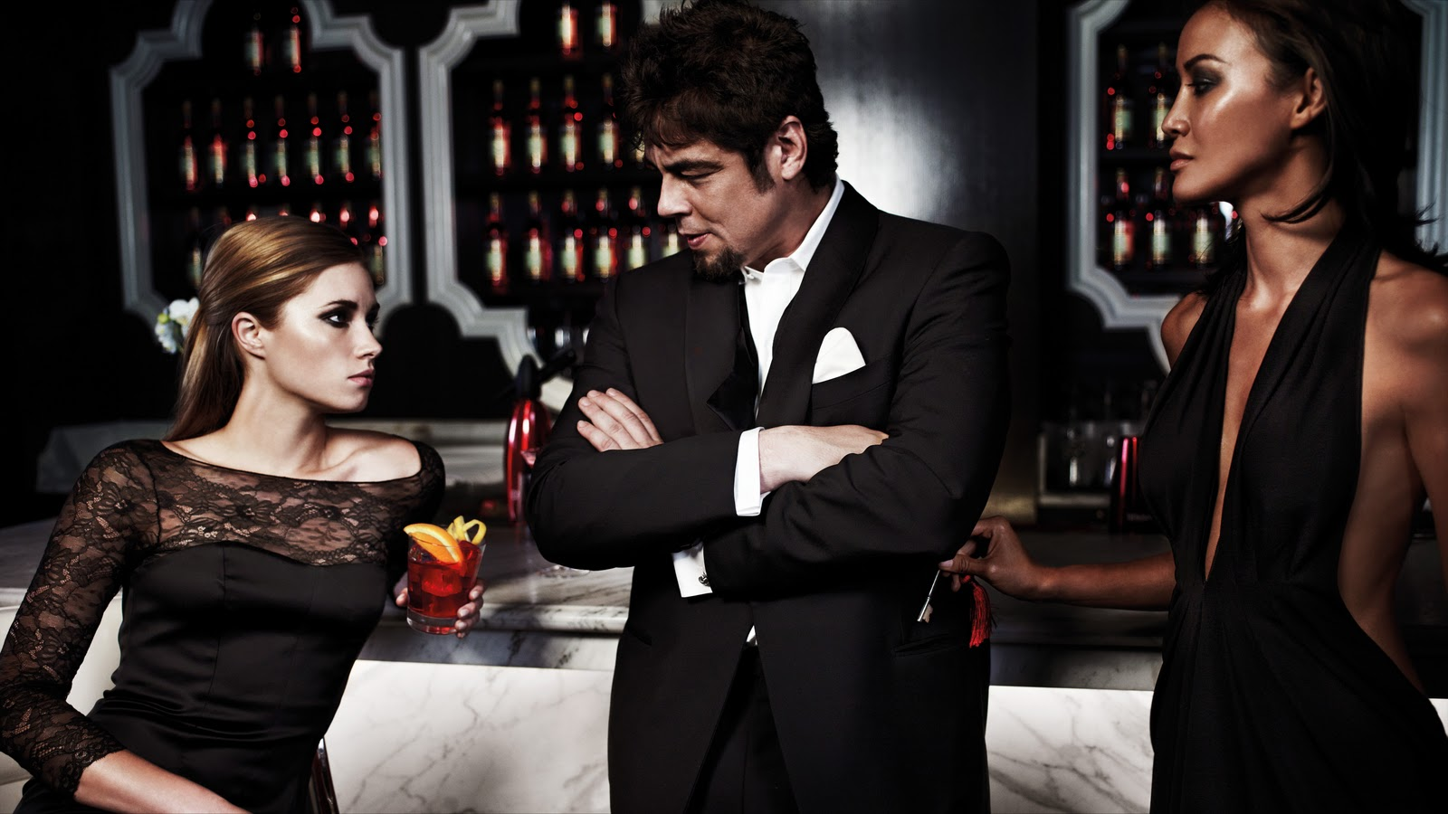 Calendario Campari 2011  con Benicio Del Toro