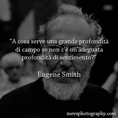 Ipse dixit: Eugene Smith