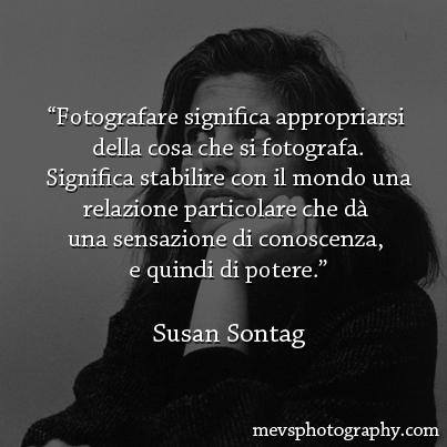 Ipse dixit: Susan Sontag