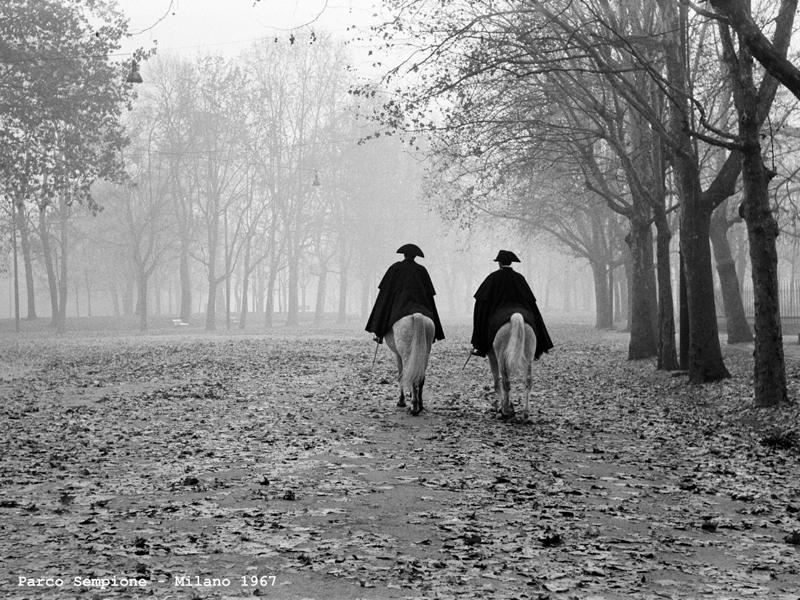 Mengacci-Parco-Sempione-Milano-1967