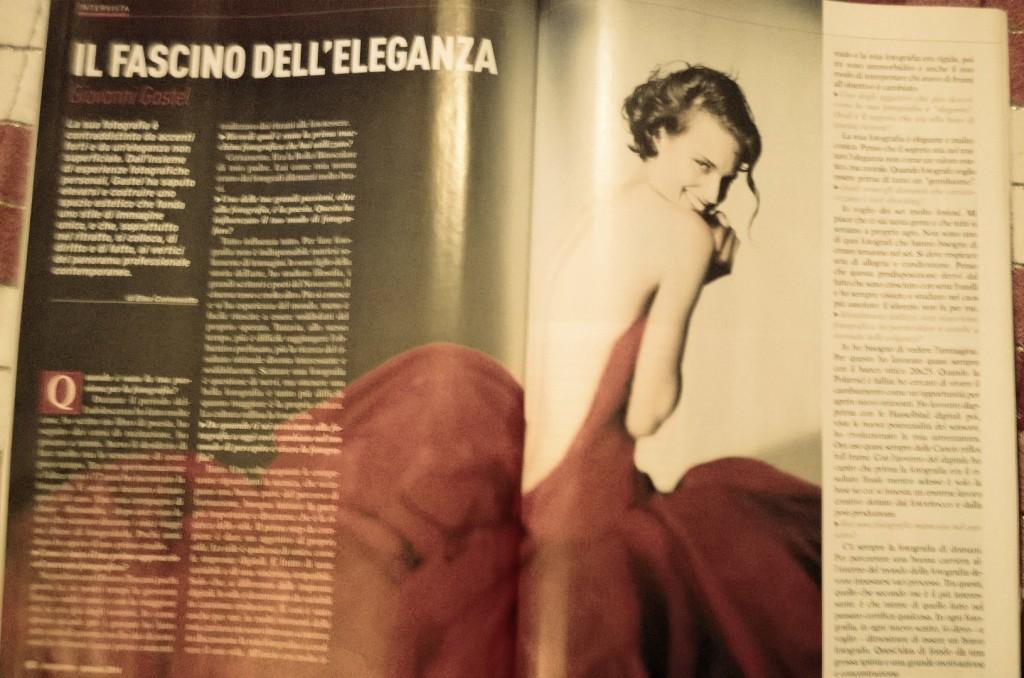 Intervista a Giovanni Gastel di Elisa Contessotto