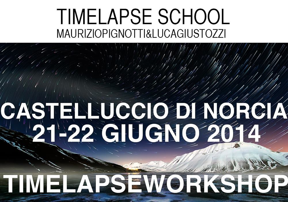 Timelapse Workshop: 21-22 Giugno 2014