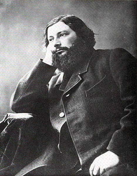 Nadar, Gustave Courbet 1861