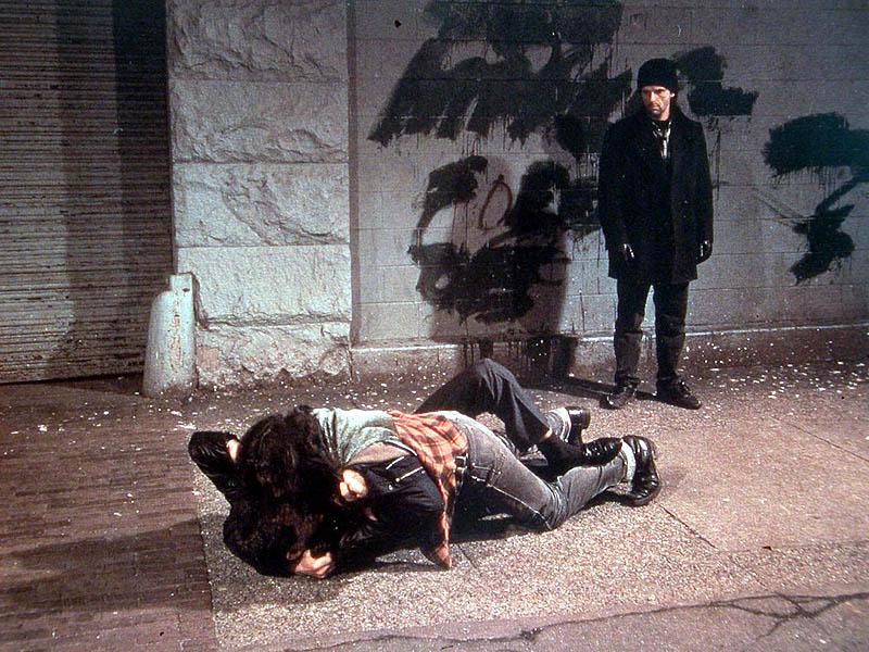 Wall Jeff, Combattimento sul marciapiede 1994