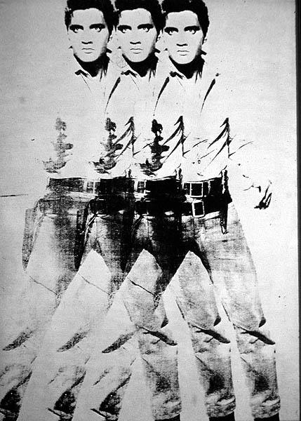Warhol Andy, Elvis triplo 1964