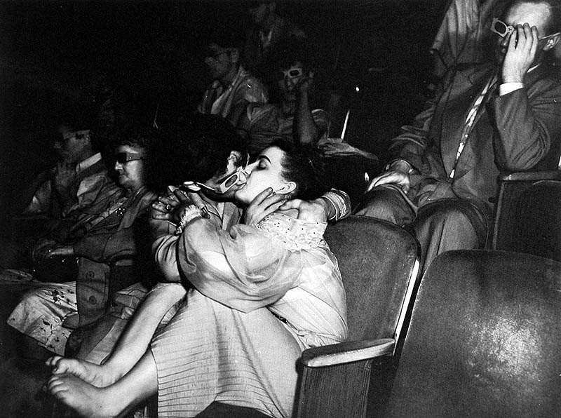 Weegee, Palace Theater 1945