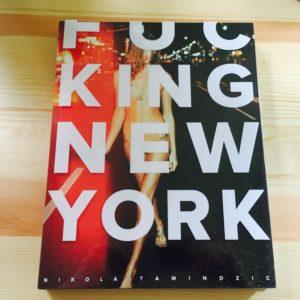 libro fucking new york nikola tamindzic