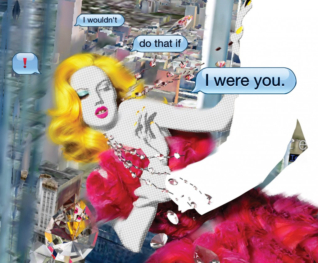 Daily Click: Text Talk di Nick Knight