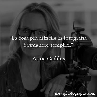 Ipse dixit: Anne Geddes