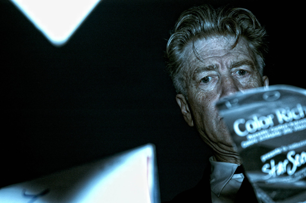 DAVID LYNCH. Foto di Alessandro Ruggeri